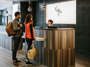 Elk + Avenue Hotel - Contemporary lobby space