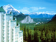 Rimrock Resort - Rimrock Resort overlooking the Bow Valley