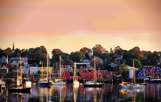 Charming Lunenburg, Nova Scotia