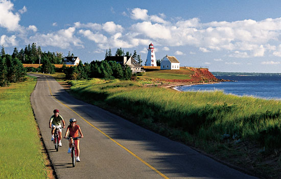 Biking around the Maritimes