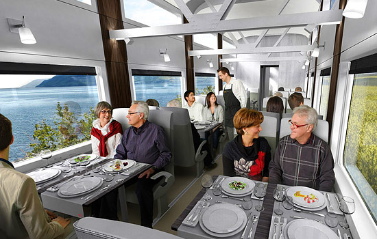 VIA Rail dining car