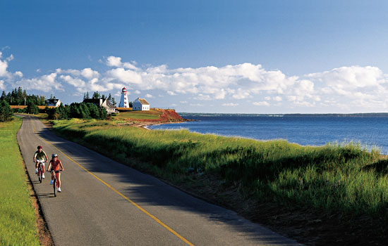 Biking around the Canadian Maritimes