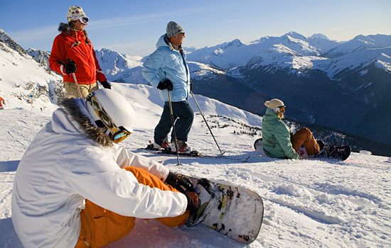 Skiing and Snowboarding, Whistler