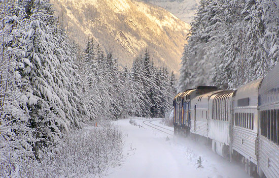 Experience VIA Rail's winter train to the Rockies