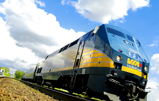 The VIA rail 'Corridor' train