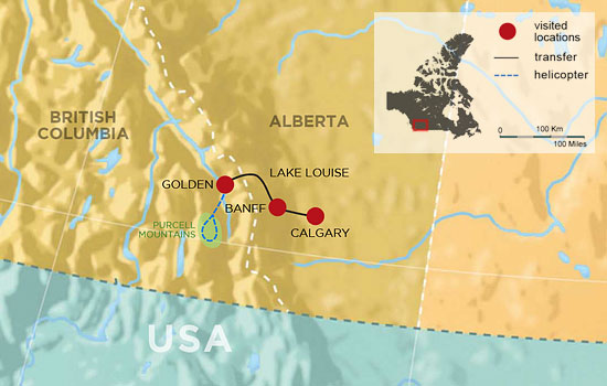Calgary On Map Of Canada.Canada Tours Vacations For 2019 2020