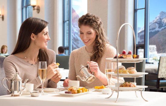 Don't miss out on the classic Afternoon Tea at Lake Louise, ask an agent to add in this experience.