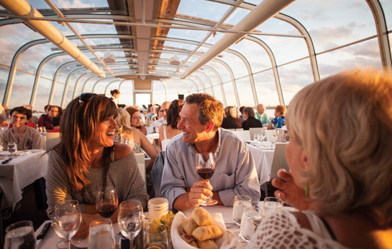 Saint Lawrence river dinner cruise