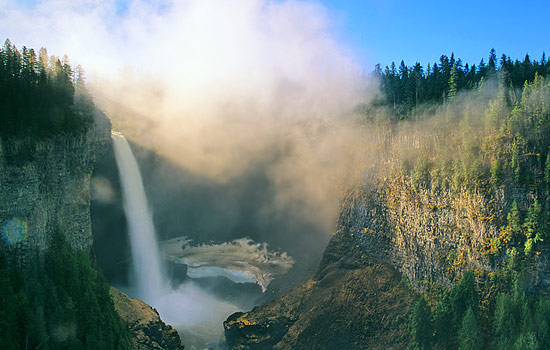 Helmcken Falls in Wells Gray National Park