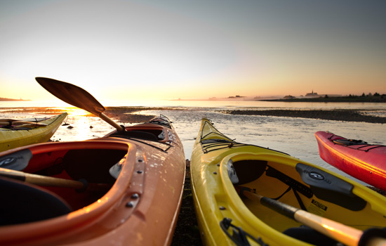 Kayaking on Cape Breton Island