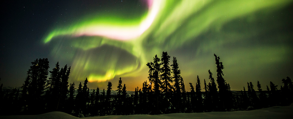 Northern lights vacation