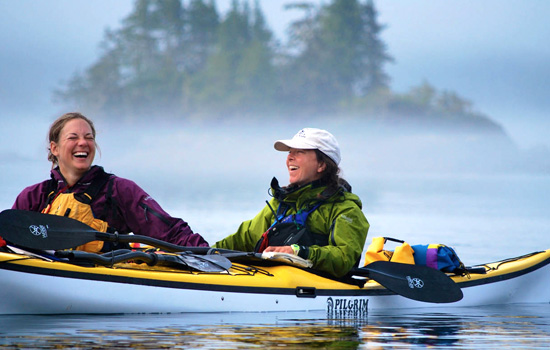 Kayaking Blackfish Sound