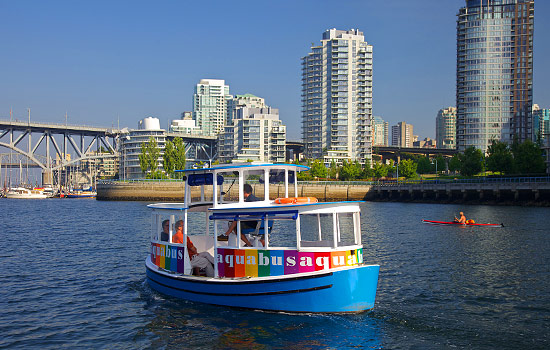 False Creek Aquabus in Vancouver