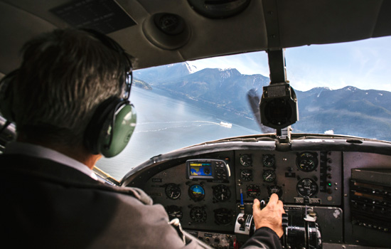 Private floatplane ride over the Gulf Islands